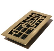 Abstract Floor Furnace Covers